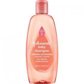Shampoo Infantil Johnson Cacheados 200ml
