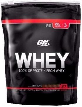 Whey Protein 100% Refil 837g - Optimum - Chocolate