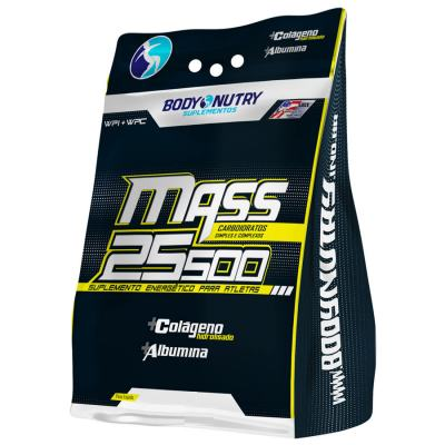 Mass 25500 + Creatina 1,5KG - Body Nutry - Morango