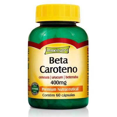 Beta Caroteno 400Mg 60cps - Maxinutri - 60Cps