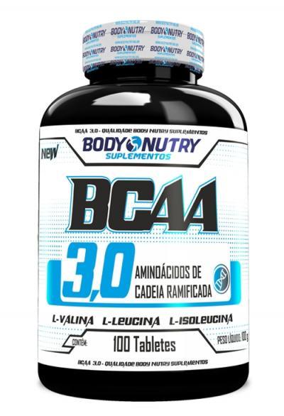BCAA 3,0 100tbs - Body Nutry - 100Tbs