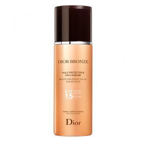 Bronzeador Dior Bronze Beautifying Protective Oil Sublime Glow SPF 15 - 125ml
